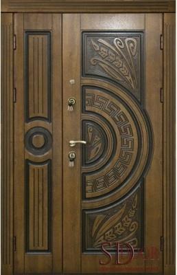 Двері на дві стулки №4