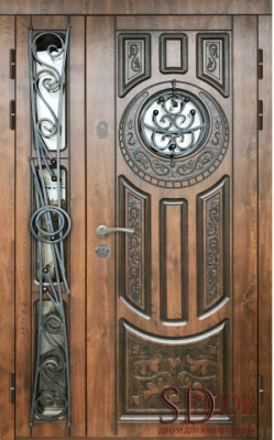 Двері на дві стулки №23