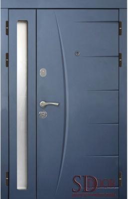 Двері на дві стулки №8