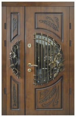 Двері на дві стулки №20