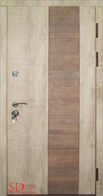 Дверь Бона со вставками МДФ