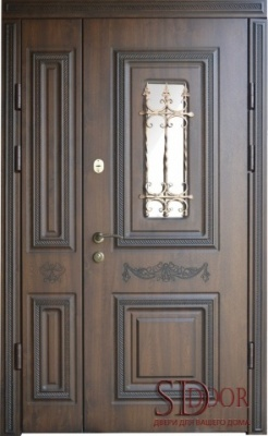 Двері на дві стулки №15