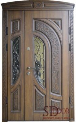 Двері на дві стулки №16