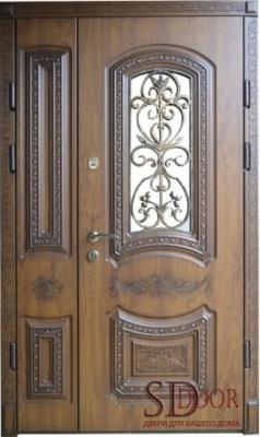 Двері на дві стулки №7