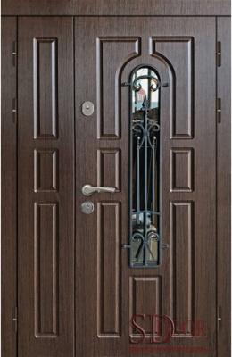 Двері на дві стулки №9